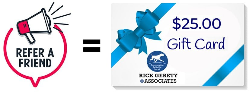 Harford-MD-Insurance-Agents-Referral-Gerety-25-Gift-Card